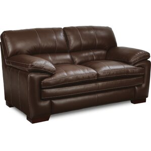 Dexter Leather Loveseat by..