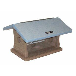 Birds Choice Recycled Bluebird Hopper Bird Feeder