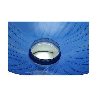Find a Glass Circular Vessel Bathroom Sink ByThe Renovators Supply Inc.