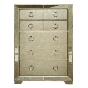 Halstead 5 Drawer Chest by House of Hampton Today Only Sale