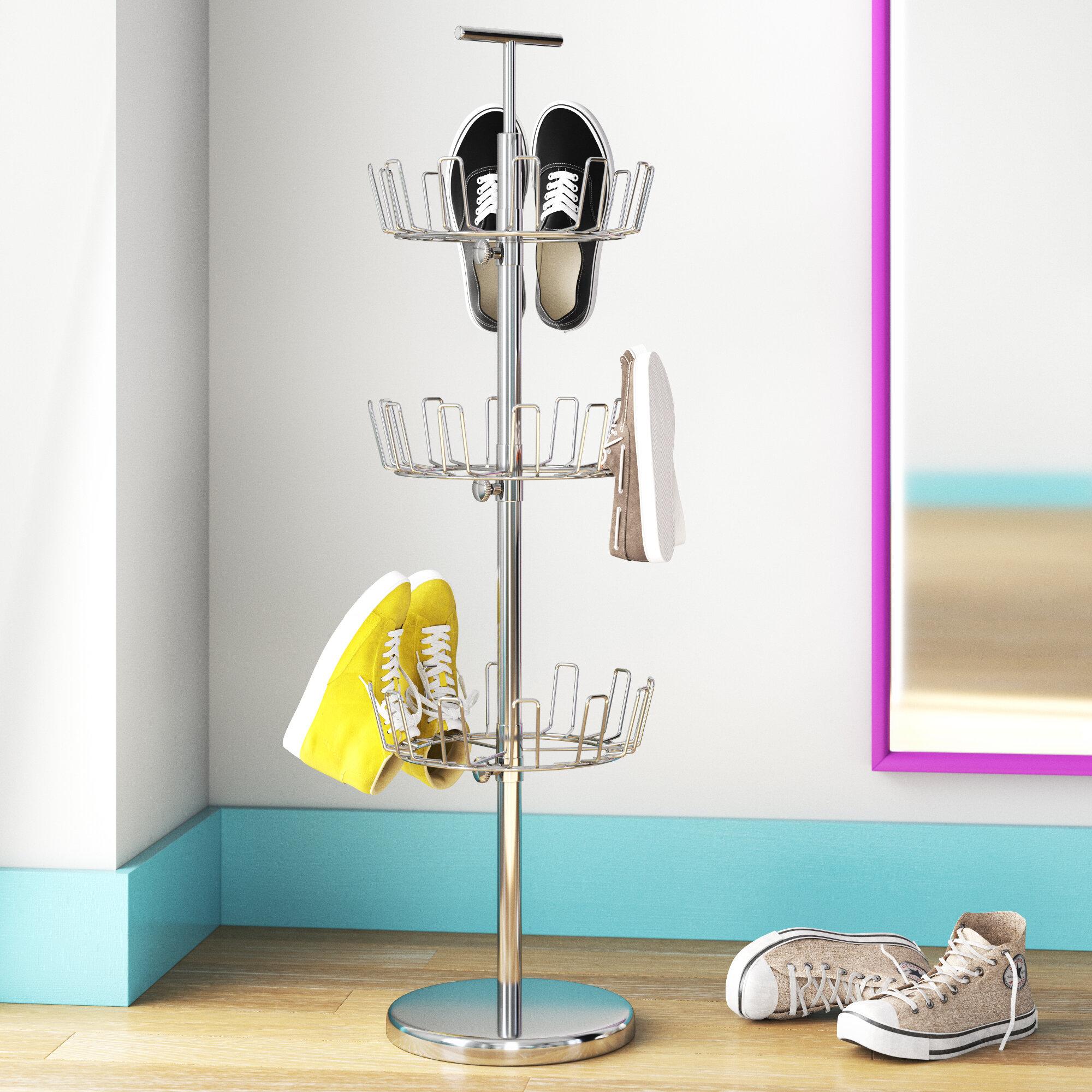 Wayfair Basics 18 Pair Shoe Rack Reviews Wayfair