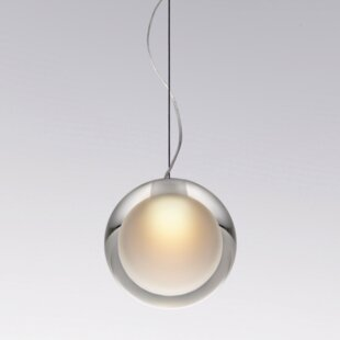 Tear Drop 1-Light LED Globe Pendant by Yamagiwa
