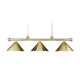 Ebern Designs Walt 3-Light Billiard Light