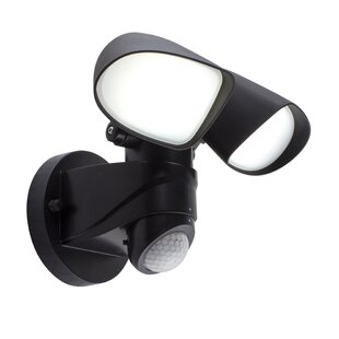 Bazz LED Outdoor Security Flood Light wit..