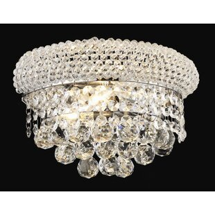 Rosdorf Park Janelle 2-Light Flush Mount