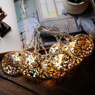 5.5 ft. 10-Light Novelty String Light