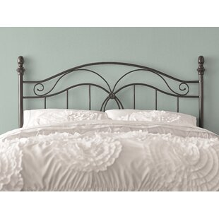 Crocker Bedroom Metal Headboard by Charlton Home