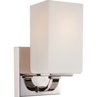 Affordable Tarver 1-Light Bath Sconce By Latitude Run