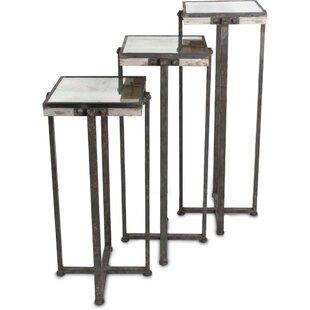 Williston Forge Hamby 3 Piece Nesting Tables