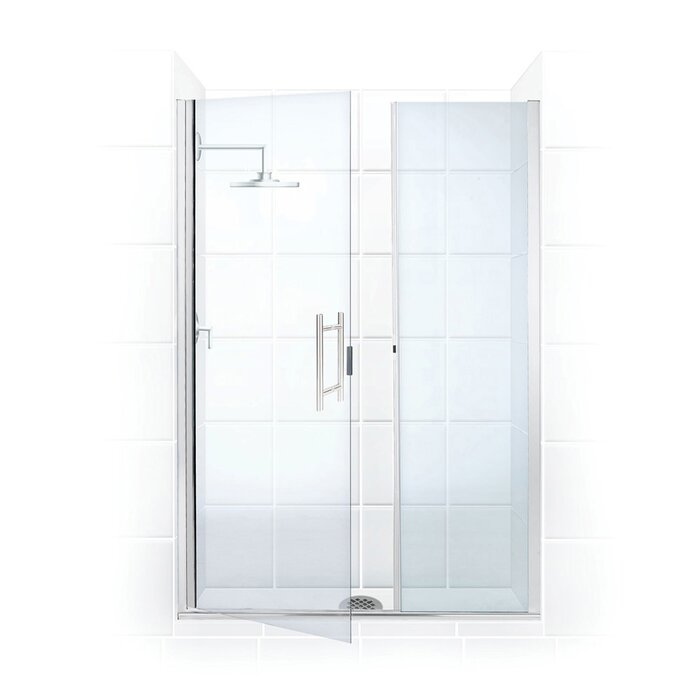 Illusion Series 34 X 70 Hinged Framed Shower Door