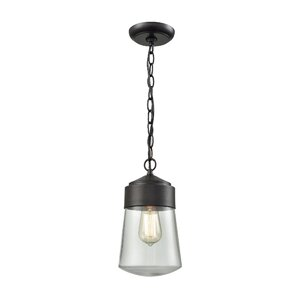 Zola 1-Light Outdoor Pendant