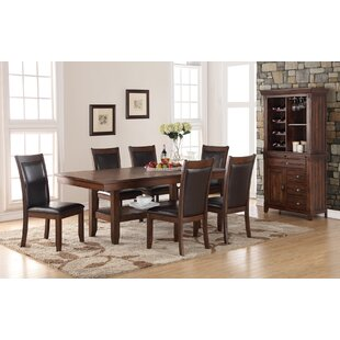 Portal Traditional Upholstered Dining Chair (Set of 2) Three Posts