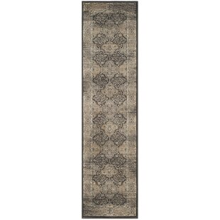 Check Prices Mainville Black Area Rug By Alcott Hill