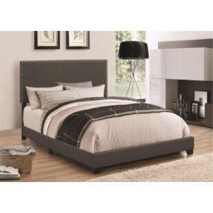 Sheldon Upholstered Panel Bed by Charlton Home