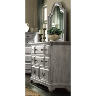 Chelmscote 8 Drawer Double Dresser with Mirror