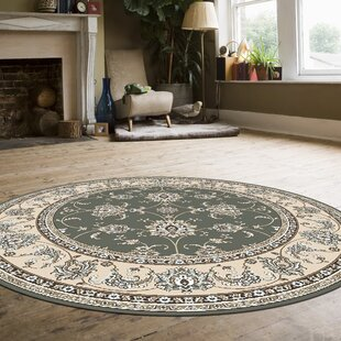 Ackermanville Green Area Rug by Charlton Home