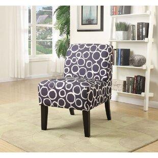 Ebern Designs Doolittle Fabric Slipper Chair
