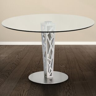 Bonetti Round Dining Table by Orren Ellis Comparison