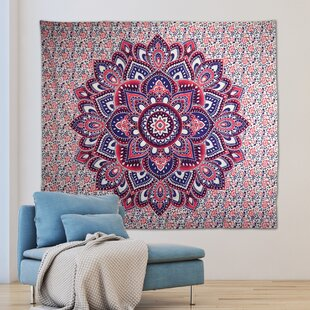 68 X 80 Kess InHouse Louise Breeze Gray Blue Wall Tapestry