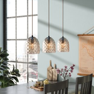 Mistana Liberty 3-Light Kitchen Island Pendant
