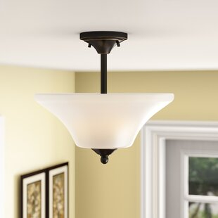 Olsson 2-Light Semi Flush Mount by Andover Mills