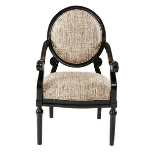 Astoria Grand Goode Exposed Wood Armchair