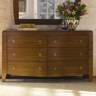 Mercer 6 Drawer Double Dresser