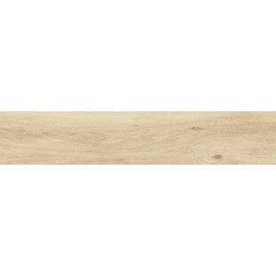 Review Atelier 9 x 34.5 Porcelain Wood Look Tile in Natural by Tesoro