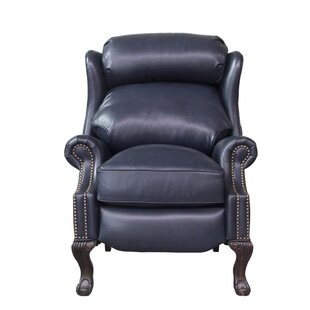 Verne Leather Manual Recliner