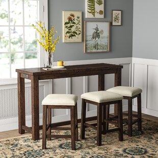 Kieran 4 Piece Pub Table Set by Gracie Oaks