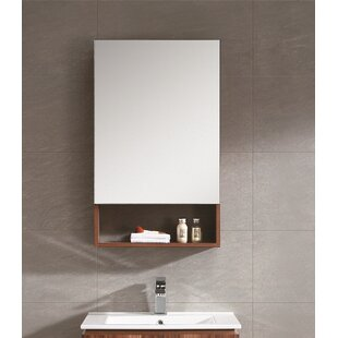 Knott 19.63 x 31.5 Surface Mount Medicine Cabinet by Zipcode Design