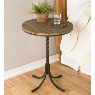 Look for Deep Creek Candlestick End Table By Plow & Hearth