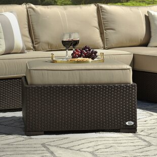 Laguna Outdoor Ottoman with Cushion by Serta at Home