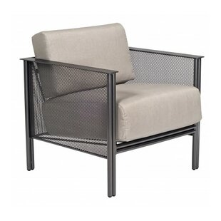 Woodard Jax Stationary Patio Chair with C..