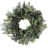 "Preserved 20"" Eucalyptus Wreath"