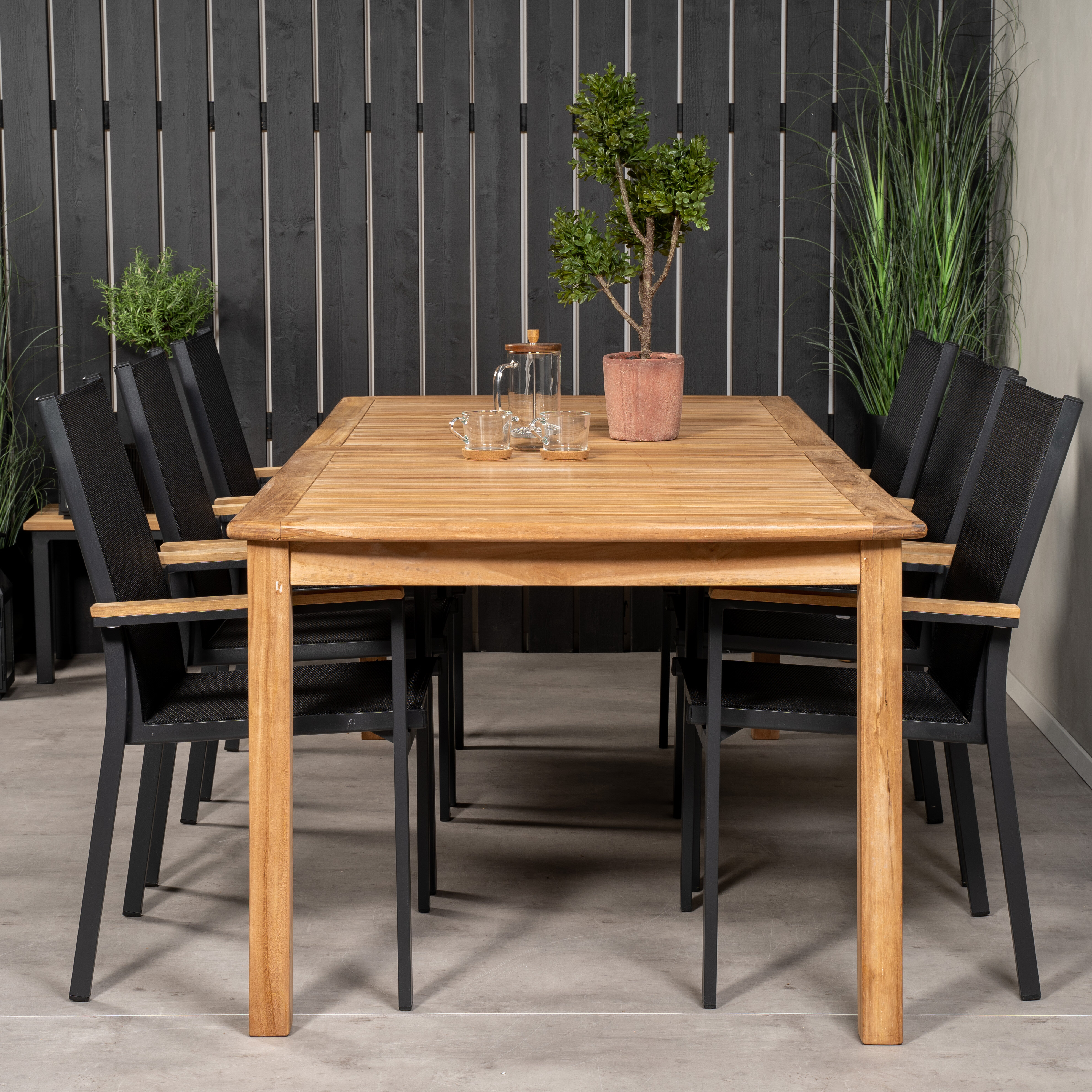 Dakota Fields Baek 6 Seater Dining Set Wayfair Co Uk