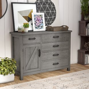Gracie Oaks Catawissa 5 Drawer Gentleman's Chest Image