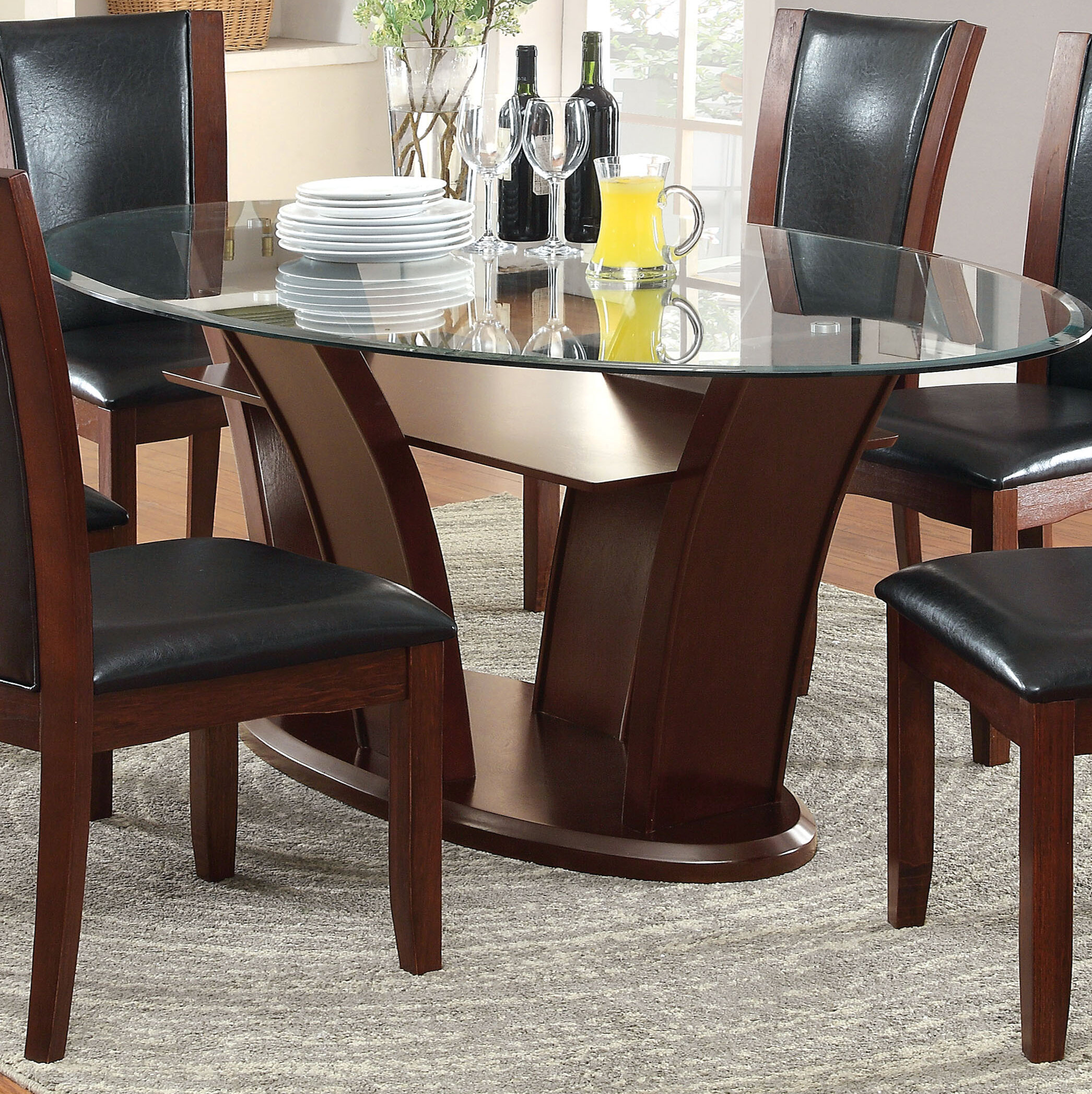 Picture of: Glass Oval Kitchen Dining Tables You Ll Love In 2020 Wayfair
