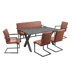 Mccord Dining Set With 4 Chairs And 1 Bench By Williston Forge