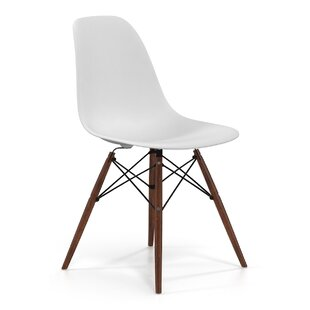 modern white chairs. Brook Modern Solid Wood Dining Chair (Set Of 2) White Chairs N
