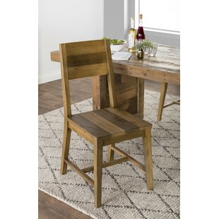 Abbey Solid Wood Dining Chair (Set of 2) Mistana