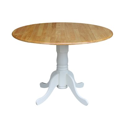 Sensational Three Posts Boothby Drop Leaf Solid Wood Dining Table Color Gamerscity Chair Design For Home Gamerscityorg
