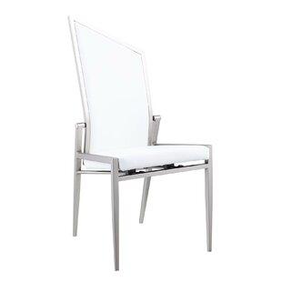 Joy Upholstered Dining Chair (Set of 2) by Orren Ellis