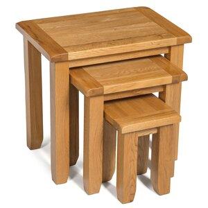 3-tlg. Satztisch-Set Monchique von Hallowood Furniture