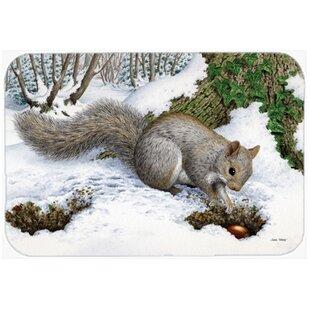 Barr Squirrel Glass Cutting Board
