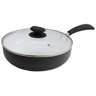 Hummington 3.5 qt. Ceramic Non-Stick Saute Pan with Lid