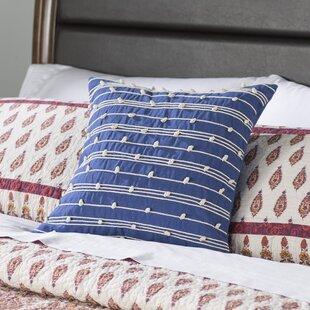 Aiken Square 100% Cotton Pillow Cover