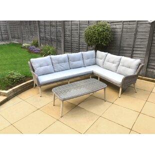 Deanna 6 Seater Rattan Corner Sofa Set By Zipcode Design