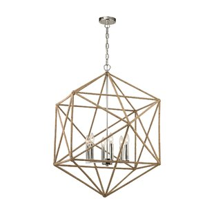 Reticuli 6-Light Chandelier by..