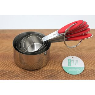 5 Piece Stainless Steel Measuring Cup Set